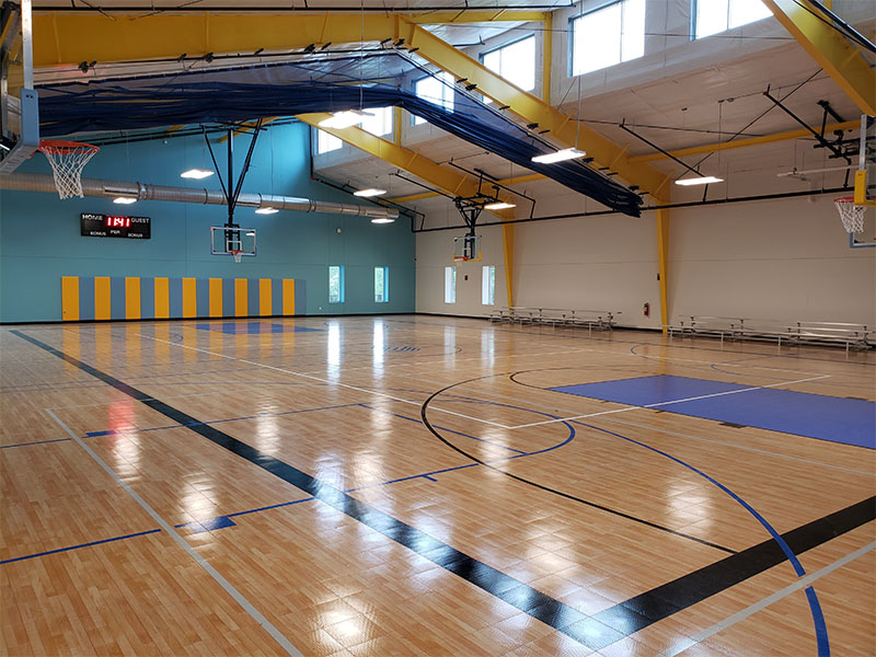 Sport Court Indoor Commercial Basketball Court