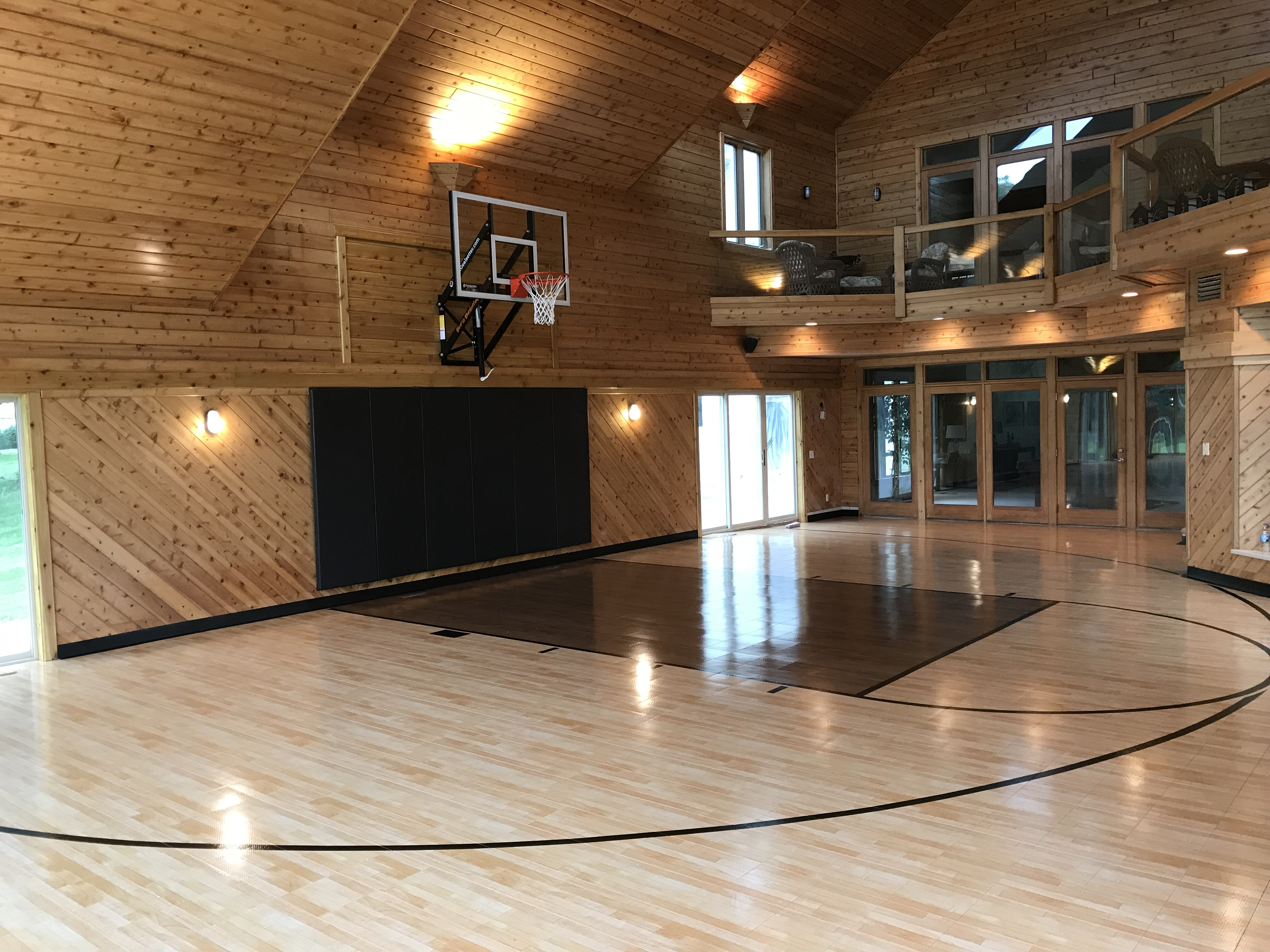 Sport Court Indoor Residential Basketball Court