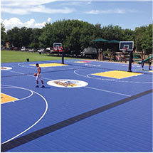 Sport Court South facility flooring for schools