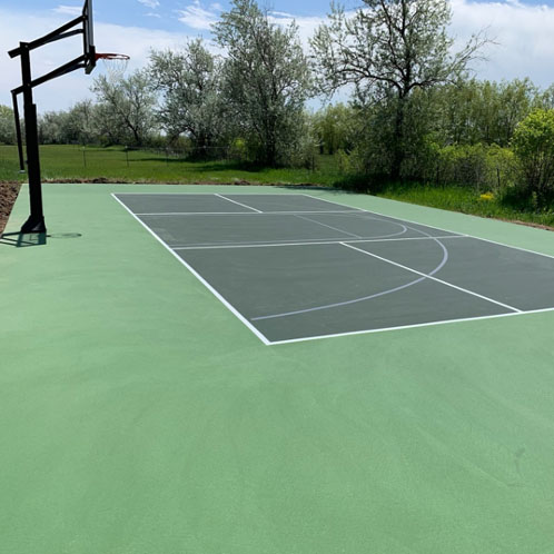 Consulting Projects-Outdoor court