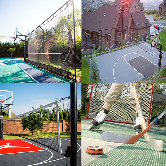 rebounders, nets, outdoor accessories