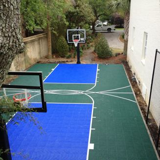 Backyard Courts Sport Court North Carolina Carolinas