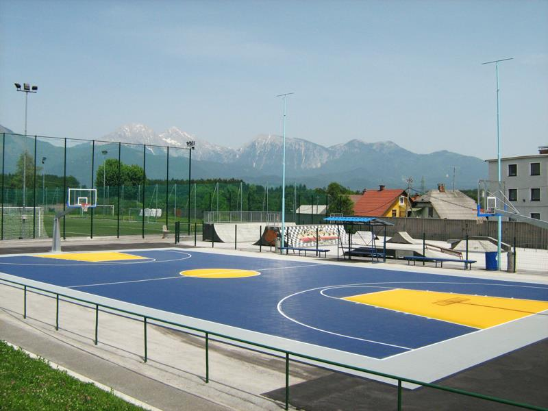 Outdoor Basketball and Multi Sport Flooring Installers