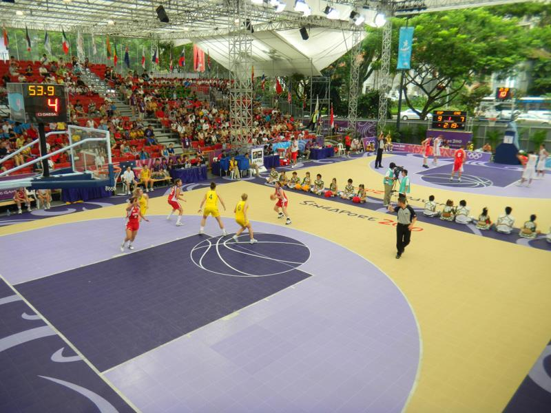Outdoor Basketball Court Contractors
