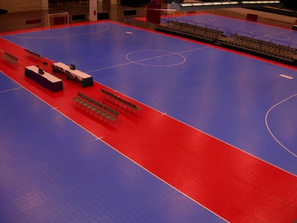 Futsal Gym Flooring Installers