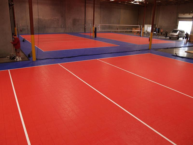 Volleyball Court Builders and Contractors