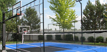 Home Basketball Court Construction & Outdoor Basketball Court Flooring