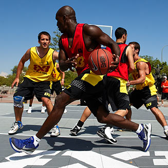Basketball Court Flooring by Sport Court West