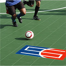 Indoor Soccer in Utah on Sport Court Athletic Tiles