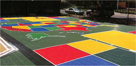 Sport Court Athletic Surfaces - Sport Court Tiles