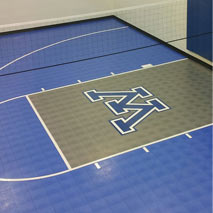 Custom indoor Sport Court home gym