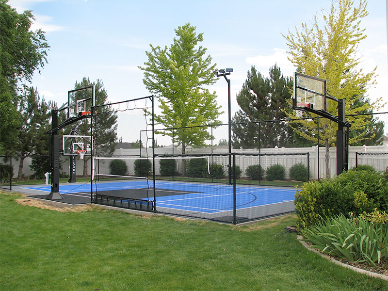 Backyard Multi-sport court from Sport Court
