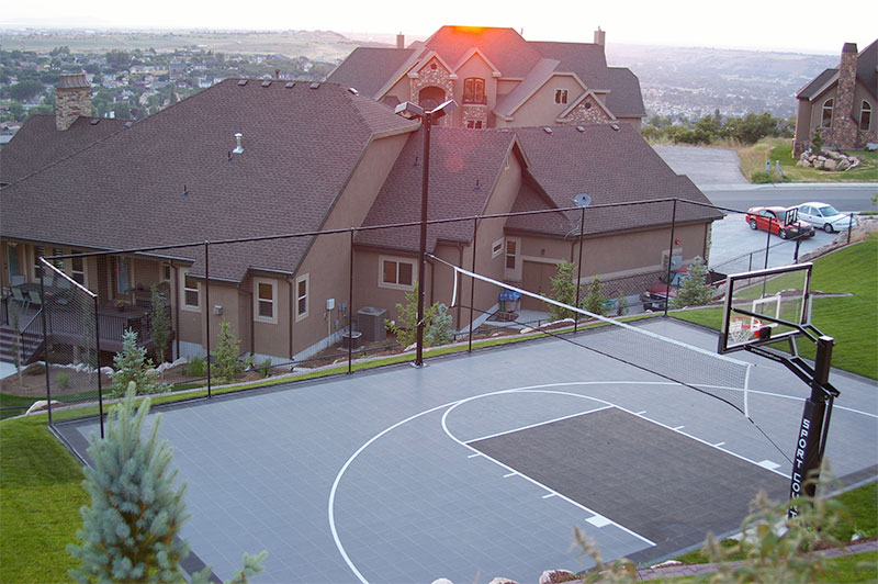 Backyard Multi-Sport Basketball Court from Sport Court