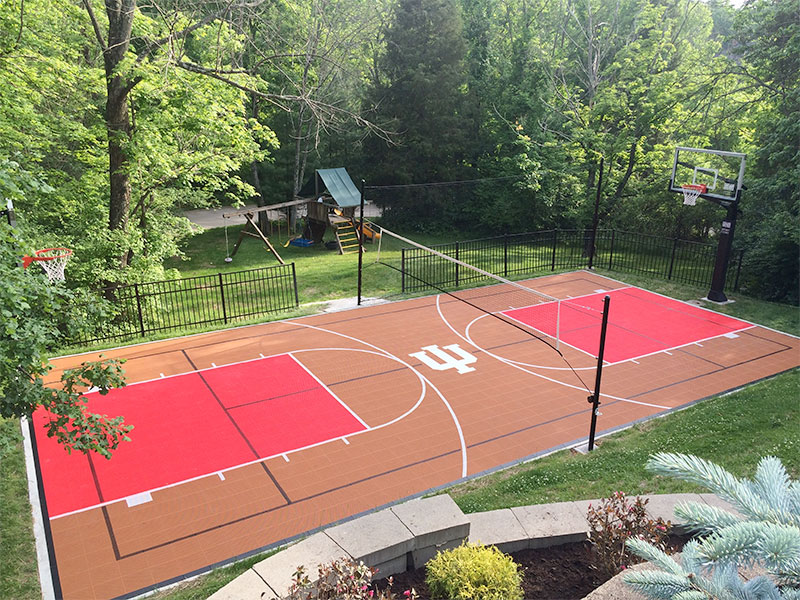 Backyard Custom Multi-Sport Court by Sport Court