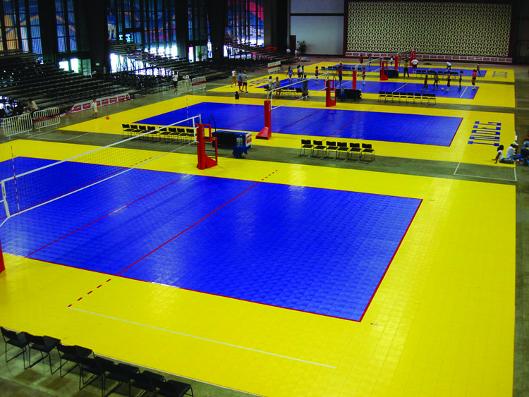 Indoor Volleyball Club by Sport Court