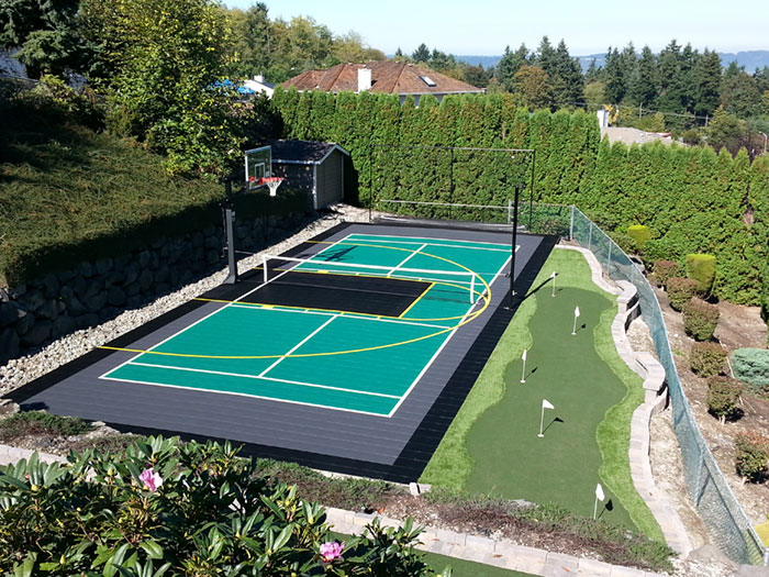 Residential Multi-court and Putting Green