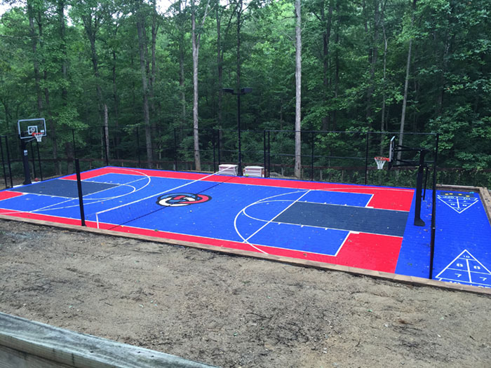 Resident Backyard Court