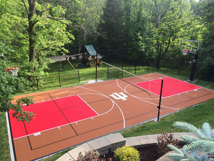 Full Backyard Court