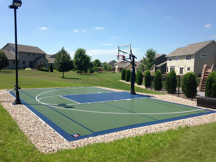 Basketball Accessories Custom-court Multi-sport Sport Facility Outdoor-court Backyard-court