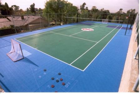 Backyard Tennis Court Builders