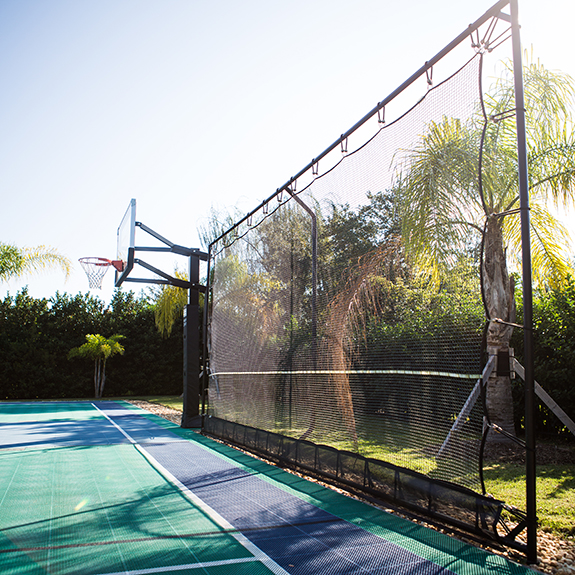 Basketball Court Rebounders