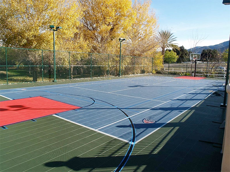 Outdoor Basketball Court Installers