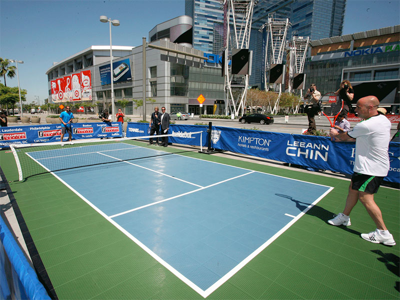 Outdoor Tennis Court Installers