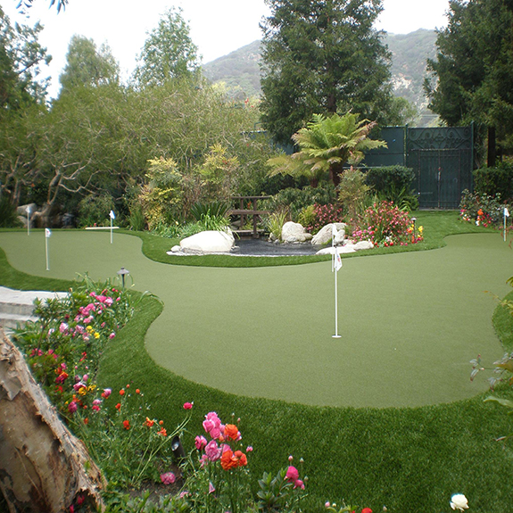 Backyard Home Putting Green Synthetic Grass
