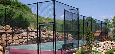 Home Tennis Court