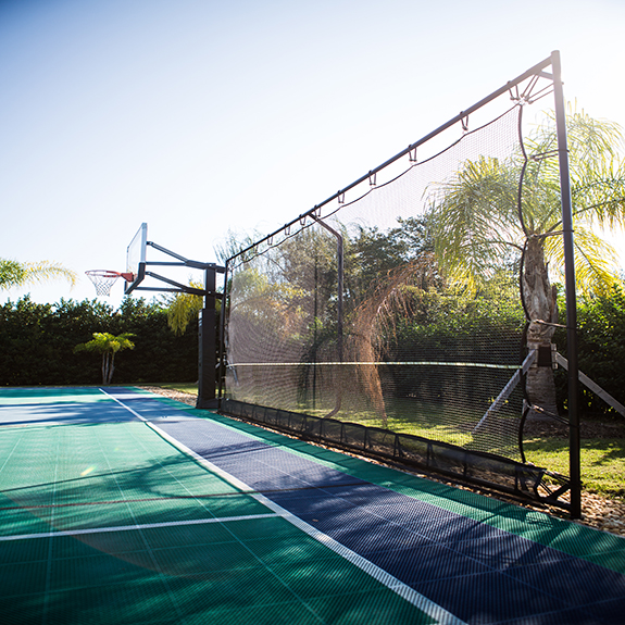 Sport Court Florida Ball Containment System