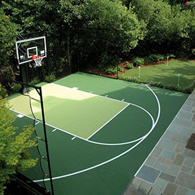 outdoor multisport court