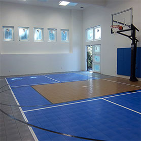 indoor home gym